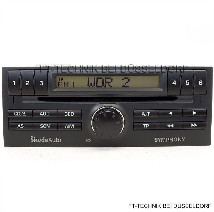Ein Skoda Symphony CD-Radio mit Code! Das Radio ist passend für: Skoda Fabia Modelle mit der passenden Blende. Ein gleich aussehendes Kassetten-Radio können Sie ohne weiteres mit diesem CD Radio ersetzen! Wenn Sie fragen haben, schreiben Sie uns oder rufen Sie an! Mehr dazu bei uns im Shop!