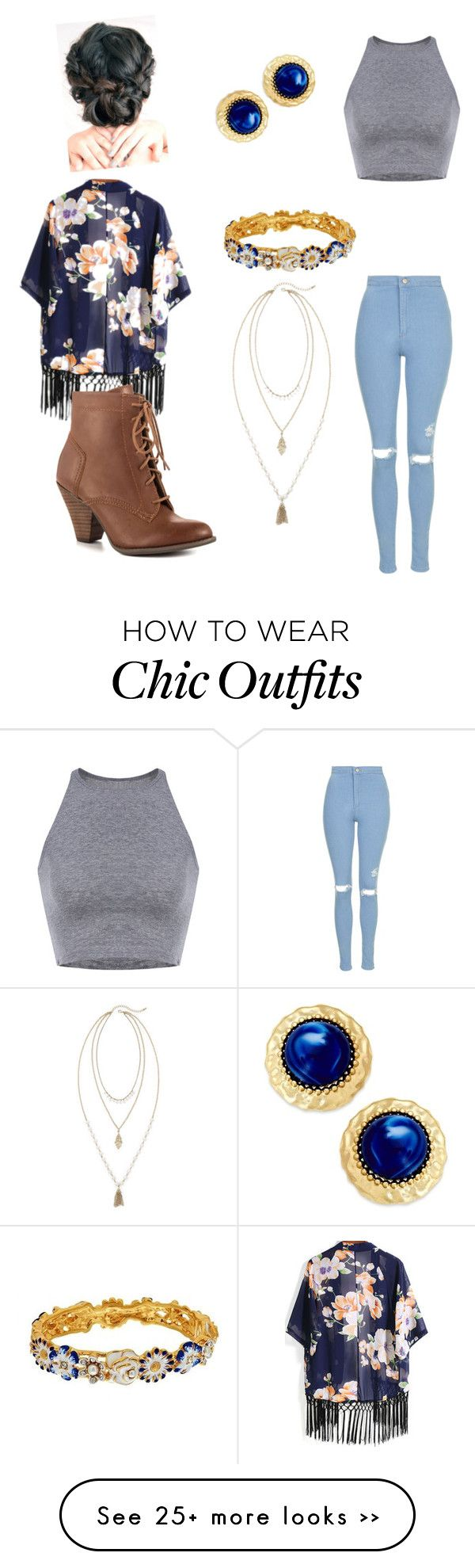 """""""Casual Fall 1"""" by chelcduncan on Polyvore"""