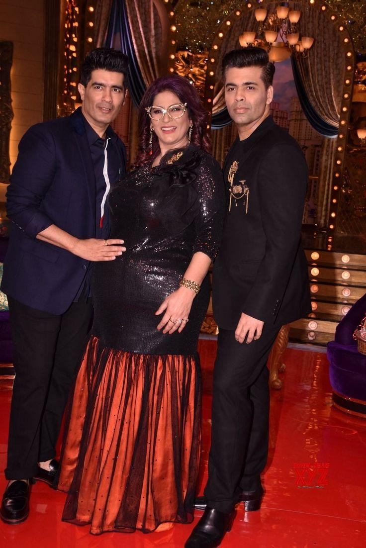 """Mumbai:""""Aunty Boli Lagao Boli"""" Manish Malhotra, Archana Puran Singh, Shilpa Shetty Kundra and Karan Johar - Social News XYZ"""