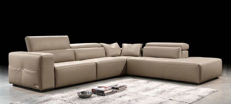 Tiffany Sectional by Gamma International, Italy Click the Picture to learn more #furniture #modernfurniture #livingroom #sofa #fabricsofa #leathersofa #sectional