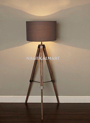 Nauticalmart modern designer tripod floor lamp nauticalmart https www amazon com