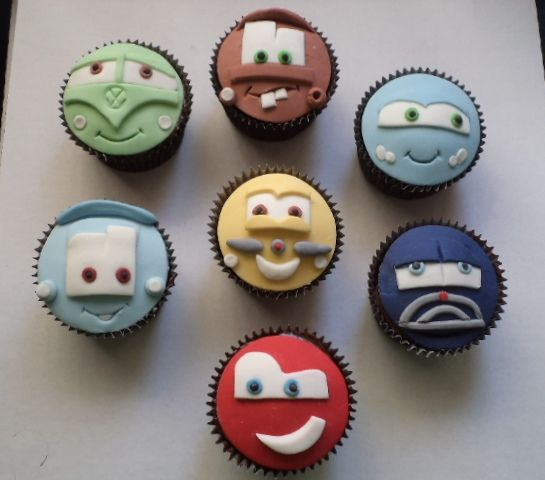 Cupcakes Carros | Flickr – Compartilhamento de fotos!