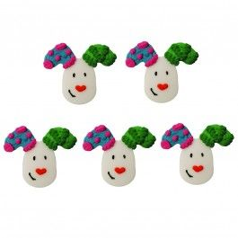The Snowman and the Snowdog Sugar Decorations - Pack of 5