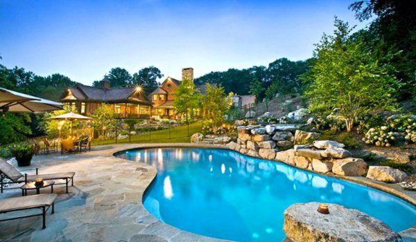 101 Bilder von Pool im Garten - pool garden schwimmbecken ideen - garten mit pool gestalten