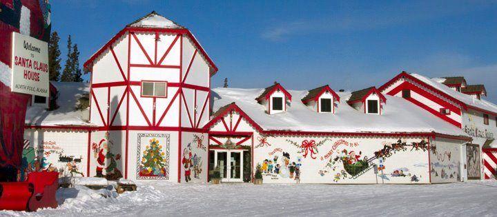 Santa Claus House - North Pole Alaska - Good Sam Blog