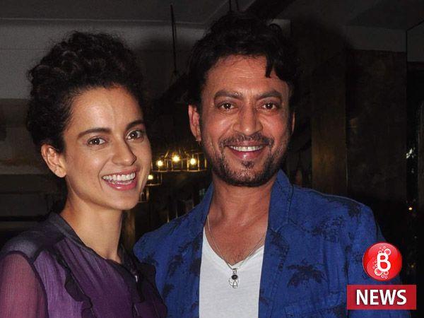 Irrfan Khan is keen to star in Kangana Ranaut's directorial debut 'Teju'