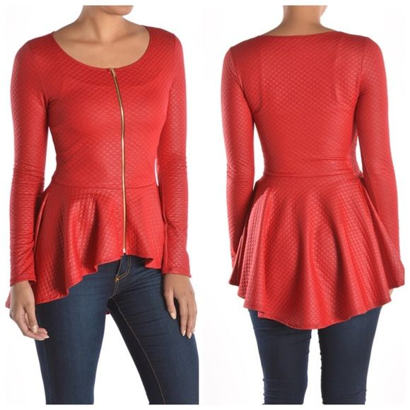 Peplum Tops at Lulus. Item Has Been Added To Bag! Items not reserved and may sell out.