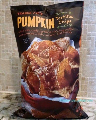 Trader Joe's Pumpkin Tortilla Chips 7oz/198g  Gluten Free $1.99 トレーダージョーズ パンプキントルティーヤチップス