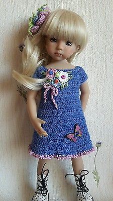 """Outfit for doll 13"""" Dianna Effner Little Darling hand made ООАК"""