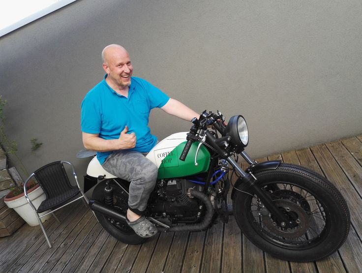 "Moto Guzzi V65 ""The Weed"""