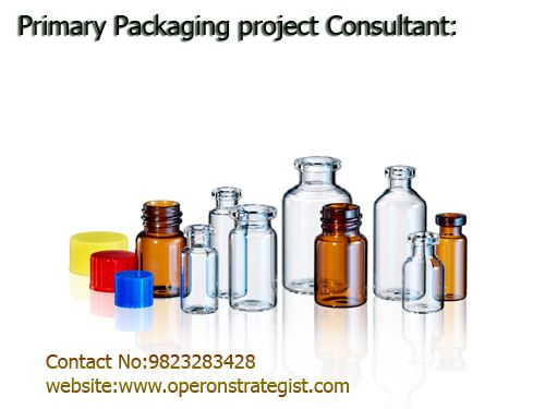 #Primary #Packaging #Project #Consultant: *#Operon #strategist is a #technical #consultant and #regulatory #advisory service provider. we also provide service for primary packaging material manufacuter for their plant set up and system implementation. in this project we go through following process. *#Primary #packaging means any single part of a container closure system. Typically containers. Mobile No:9823283428  visit:www.operonstrategist.com