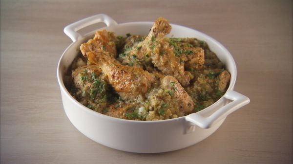 Tomatillo Chicken--Looks Yummy!! | Natural Foods | Pinterest