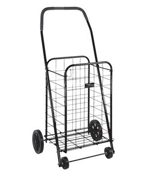 Folding Shopping Cart $39.00 from uCan Health || This easy-to-assemble cart is designed for transporting groceries or laundry, Cart, Folding Shopping Cart