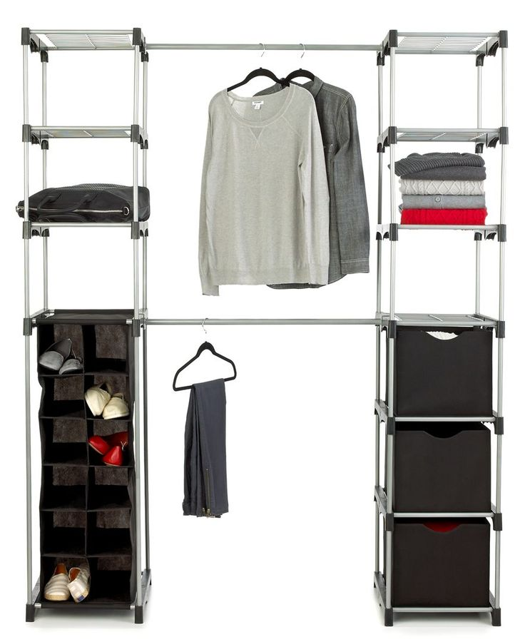 Whitmor Deluxe Double Rod Closet Organizer