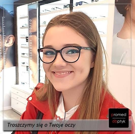 Prawdziwy uśmiech na twarzy - dla nas bezcenne! Pozdrowienia dla Pani Katarzyny. #optyk #optometrysta #okulista #okulary
