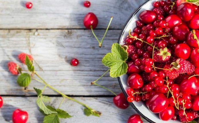 Beneficios De Los Frutos Rojos Frutas Y Verduras Fruta Alimentos