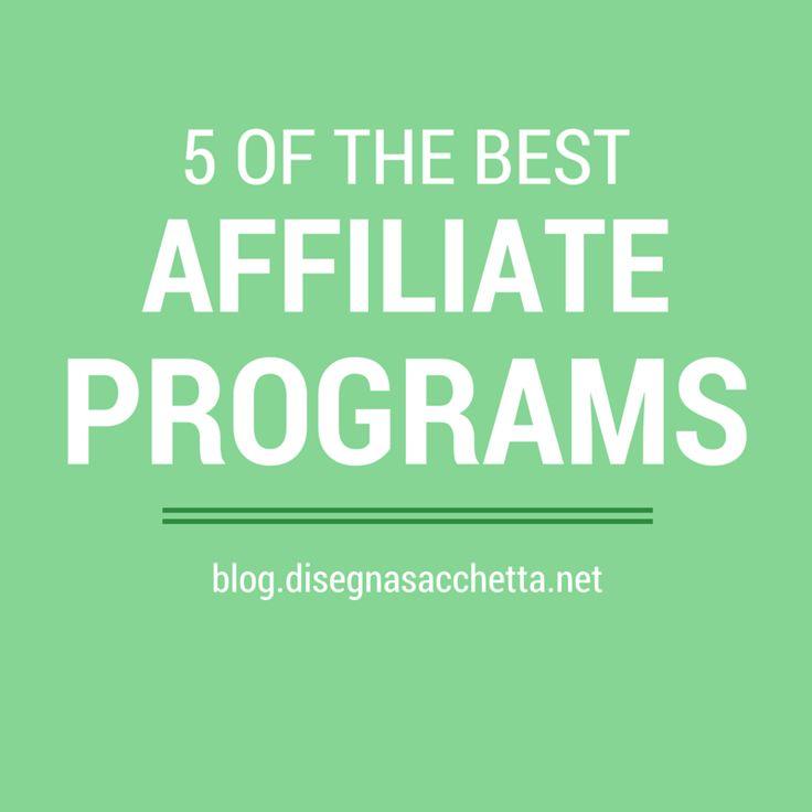 5 Best Affiliate Programs | Meet Domenica