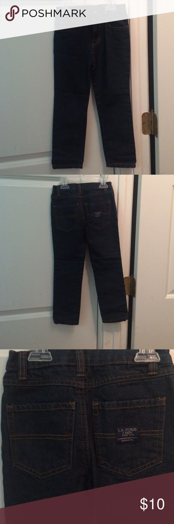 🌟LAST CHANCE🌟 U.S Polo Association Jeans Brand new without tags. My son tries them on and didn't like them. They are skinny jeans...very cute little boy jeans!! U.S. Polo Assn. Bottoms Jeans