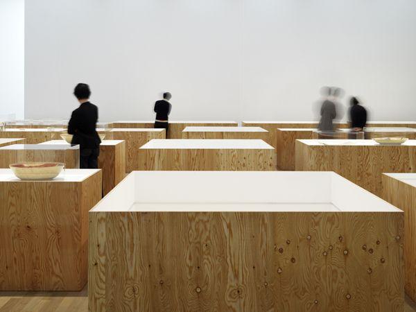 国立新美術館 加山又造展会場構成, kumiko inui