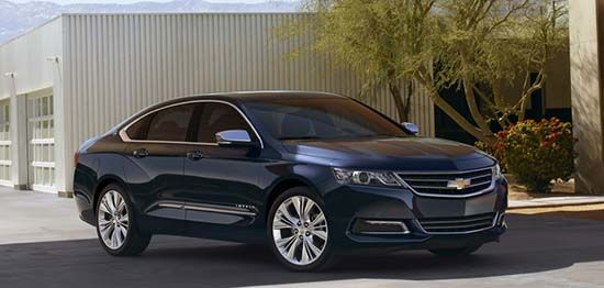 Produced three models of the new Chevrolet Impala The basic model with the designation LS which costs approximately 25,800 U.S. dollars LT model with a price tag is approximately 27,300 U.S. dollars, Model labeled LTZ price of this model is approximately 30,400 U.S. dollars.  2013 Impala models differ in equipment, Impala LS base m