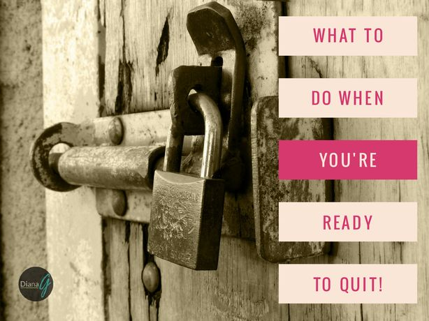 """This week's Podcast is all about quitting! Inspired an upset reader's reply to on a blog post that """"Personal Development Doesn't Work"""". Today I share my views on why he's right and what to do if you have the same challenges discussed in this episode and are ready to quit!"""