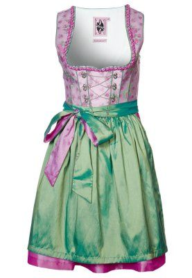 Dirndl - rose.I have yet to try a dirndl. I think they're so cute. Only if I'd find an occasion to wear one!