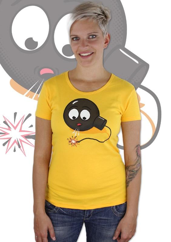 Bombe Damen T-Shirt  http://www.bastard-shop.de/damen-t-shirts/bombe-damen-t-shirt-290/