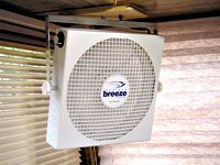 good idea. quiet fans with modest power consumption. Note from me, Evelyn: I pinned this under solar because this knowledgeable RVer and blogger talks about the capacity of his RV solar electric system and how he hooked up this fan to run on it. Lot's of stuff to learn here for me, a newbie, oh boy, where do I begin? First I need to buy a used travel trailer this month.