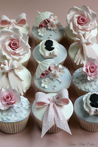 Vintage cupcakes   Flickr - Photo Sharing!