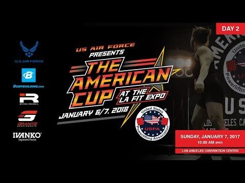 USPA American Cup At the LA Fit Expo - Day 2 | Powerlifting Competition