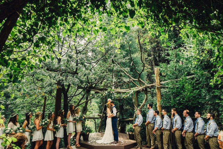15 best ideas about wedding under trees on pinterest