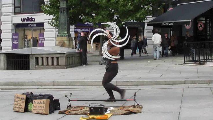 Juggler Street Artist - Oslo
