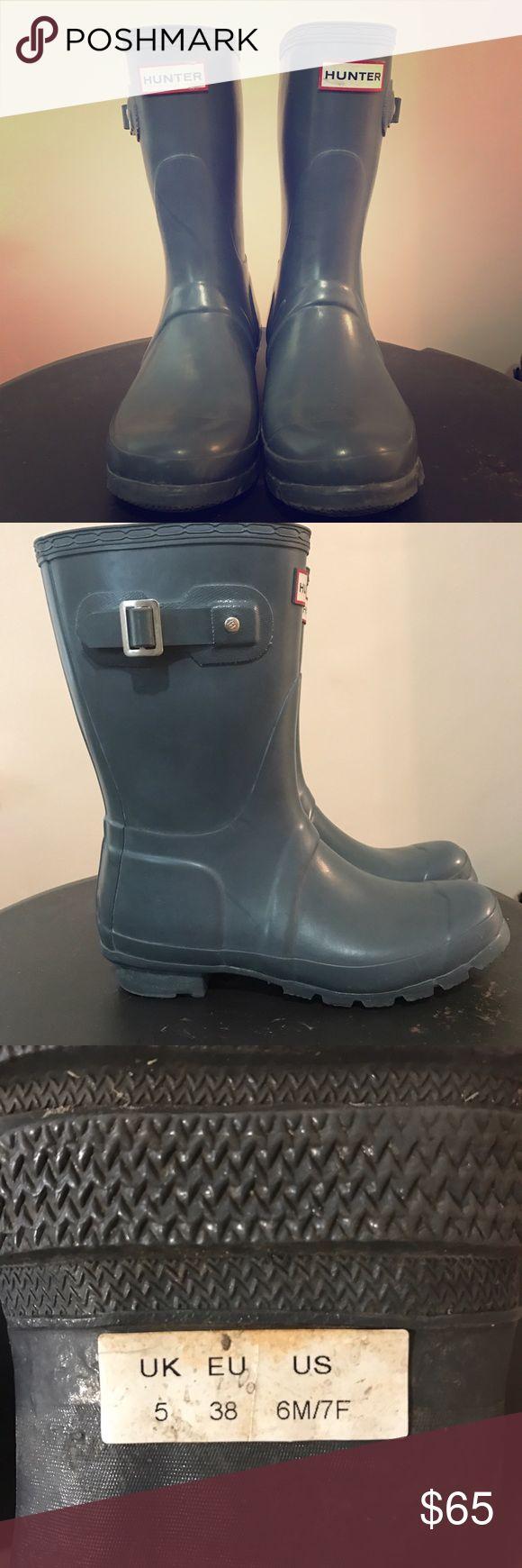 Hunter original short graphite gloss boots Hunter original short graphite gloss boots Hunter Boots Shoes Winter & Rain Boots