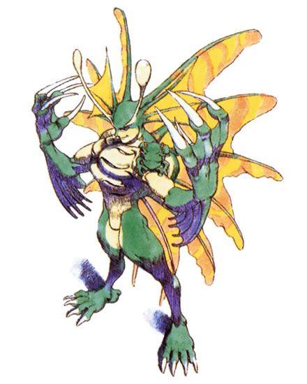 Rikuo from Darkstalkers