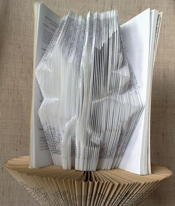 Book folding pattern and FREE Tutorial  Maple by PatternsStore