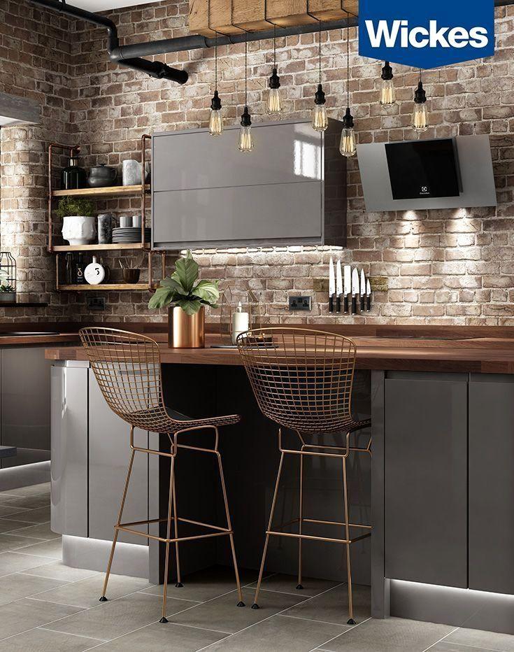Best The Kitchen Is Suc Industrial Kitchen Design Home 400 x 300