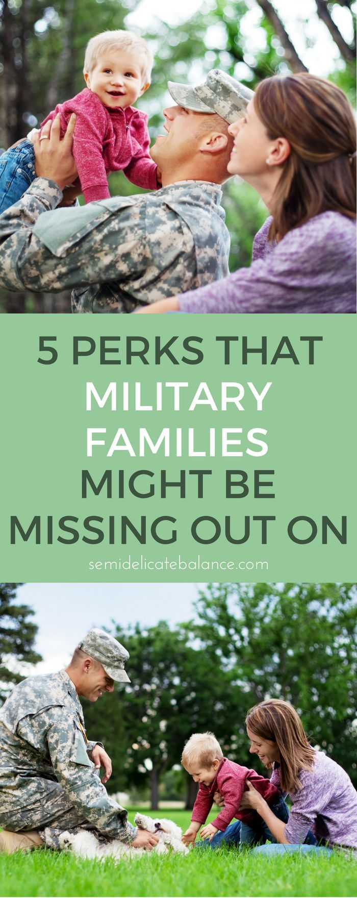 military life benefits for service members and their families