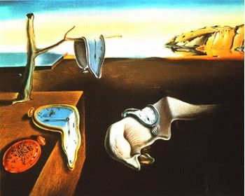 Trwałość pamięci – Salvador Dali