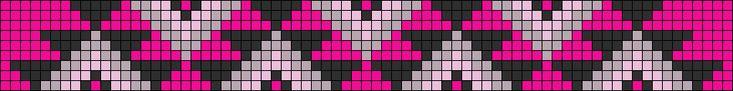 Alpha Friendship Bracelet Pattern #14081 - BraceletBook.com