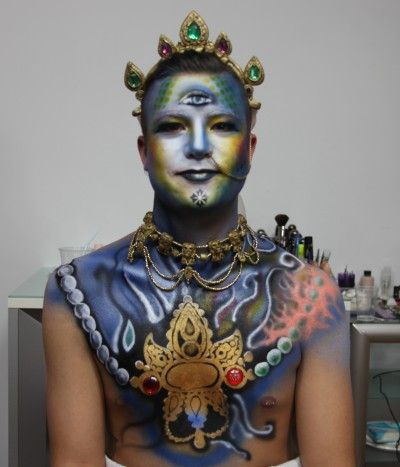 22 best BodyArt images on Pinterest | Amazing body, Make up and ...