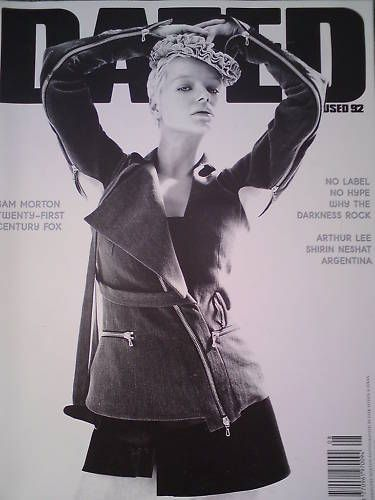 Samantha Morton - Dazed & Confused Magazine Cover [United States] (August 2002)