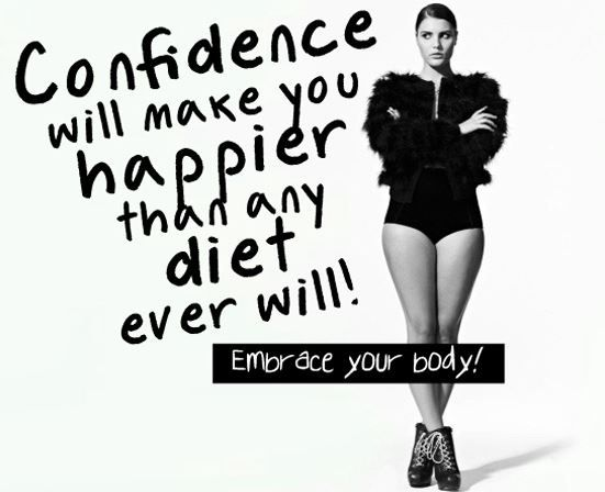 Plus-Size Fashion: Top 5 Body Confidence Quotes - Just Curvy