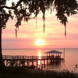 Fairhope sunset. Taken with my iPhone.