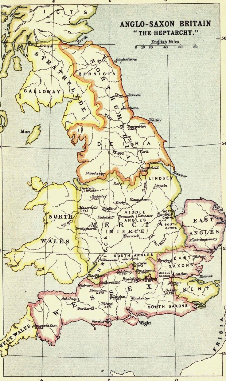 "Anglo-Saxon Britain ""The Heptarchy""                                                                                                                                                                                 More"