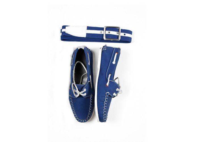 $1,500 zapatos azul con todo y correa #calzado #correa #azul #combinación