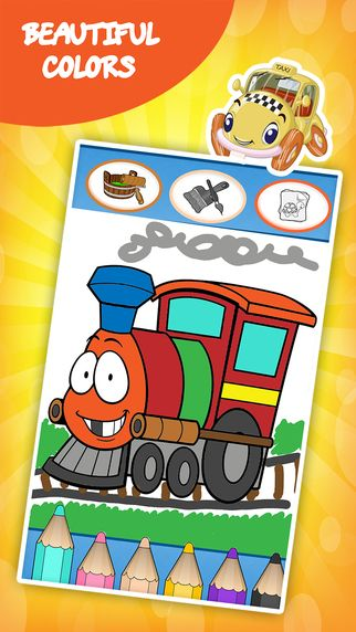 Cars coloring book for toddlers: Kids drawing, painting and doodling games for the children by RMS Games for kids