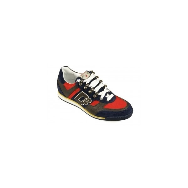 DSQUARED Sneakers Winner Navy #dsquared #sneakers #dsquared2 via Polyvore