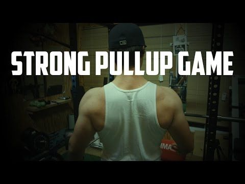 Strong Pullup Game: Free Pull Up Bar Workout Routine