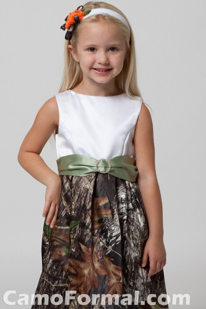 Camo toddler flowergirl dresses cheap