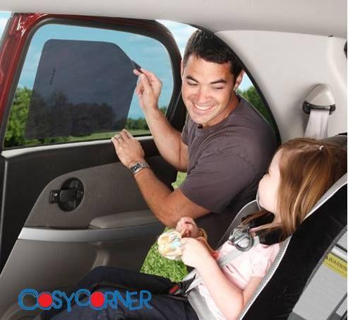 Προστατεύει το μωρό / παιδί σας από την υπερβολική ζέστη και το εκτυφλωτικό φως του ηλίου μέσα στο αυτοκίνητο. Δείκτης προστασίας: UPF50+. http://bit.ly/1qKIyMx